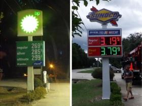 Digital Fuel Price Conversion