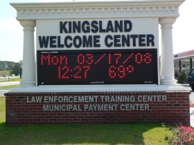 Kingsland Weclome Center