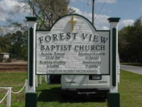 Forest View Baptist Church front