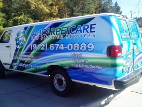 A-1 Carpet Care 2 Complete Driver Side