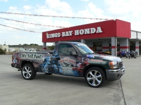 Honda Truck and Channel Letters