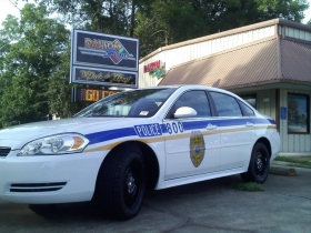 Kings Bay Police Vehicle