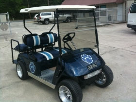 Quarterback Club Golf Cart