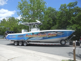Saltwater Classic Boat Wrap