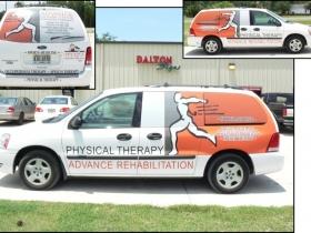 advance rehab vans
